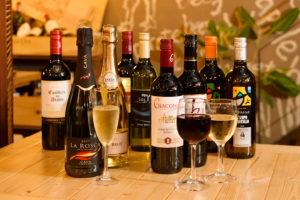 全20種類のワイン時間無制限飲み放題