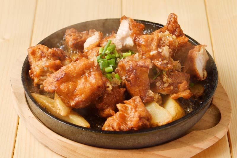 熱々油淋鶏