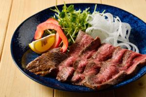 特選牛のスペシャルリブステーキ
