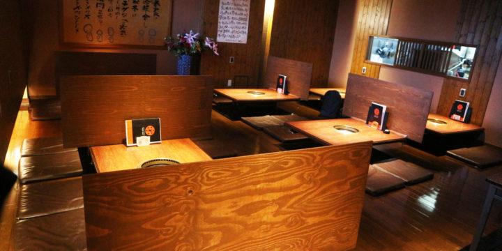 感染拡大防止対策、座席改装「お客様の安心・安全の為に」黒川本家