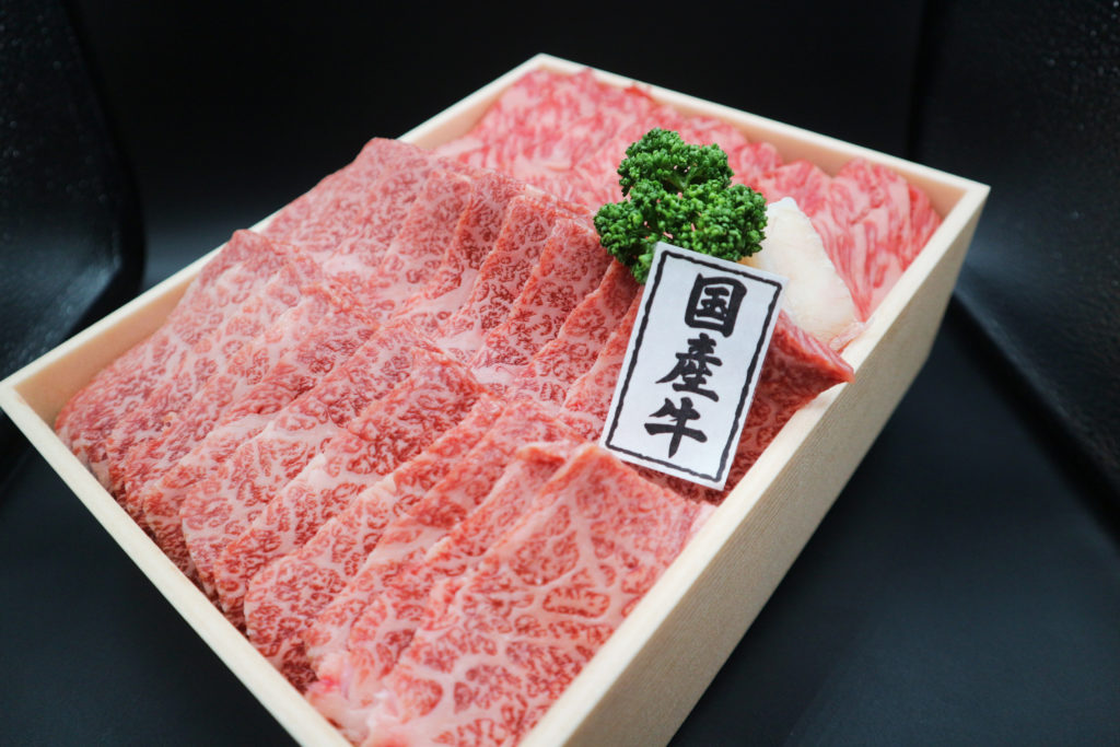 特選牛カルビ・すき焼きセット