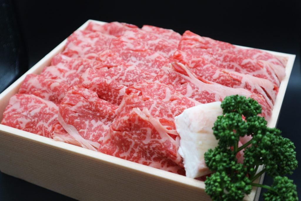 国産牛すき焼き肉