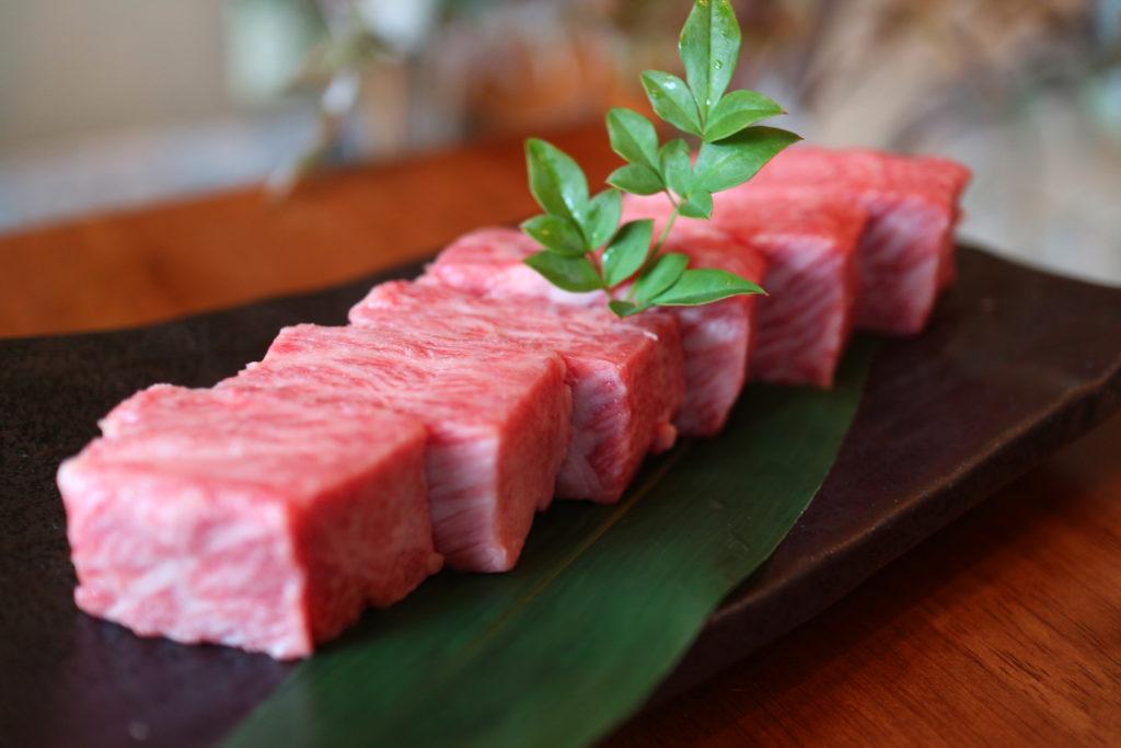 松阪牛カットステーキ