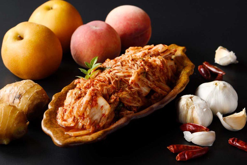 創業50年の伝統の味キムチ