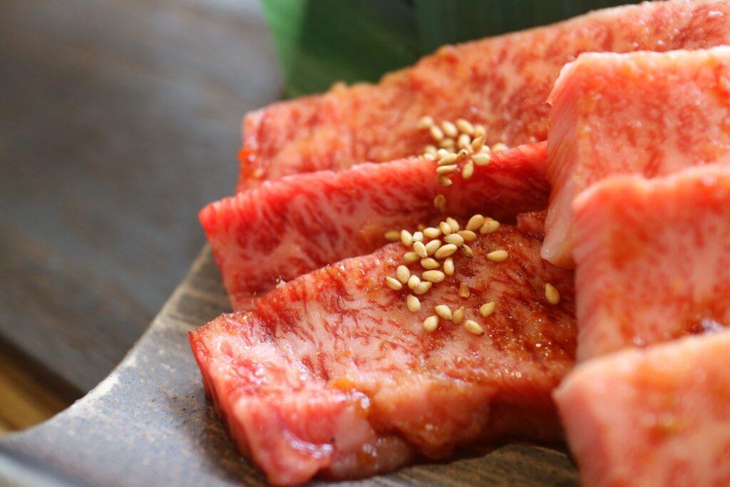 美味しい高級焼肉松阪牛A5等級ささみ
